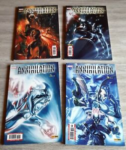 Lotto Marvel Crossover 44-47 Annihilation 1-4 serie completa Panini Comics