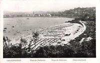 R200117 San Sebastian. Playa de Ondarreta. Plage de Ondarreta. Ondarreta beach.