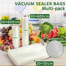 Vacuum Food Sealer Rolls Saver Bags Seal Storage Household Commercial Heat Grade