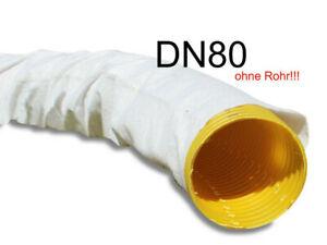 Drainagefilterschlauch Filterschaluch Filterstrumpf DN80 für Drainagerohr Premiu