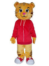 Daniel Tiger Mascot Costume Cartoon Animal Suit Fancy Cosplay Dress Adult Outfit