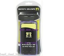 OEM Body Glove Snap On Diamond Case For HTC VO Design 4G Sprint/Hero S Purple