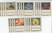 20 Circle of Protection - 7th Edition  - NM/SP - 4x of each -Sets- Magic MTG FTG