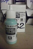 MODEL HOBBY PAINT 17ml BOTTLE   VAL832 AV Vallejo Model Color - Verdigris Glaze