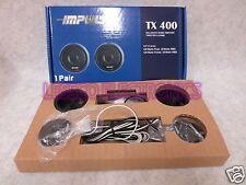 """IMPULSE TX400 CAR AUDIO 7/8"""" HARD DOME SPEAKERS TWEETERS"""