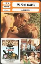 DUPONT LAJOIE - Carmet,Huppert,Boisset (Fiche Cinéma) 1975 - Rape of Innocence