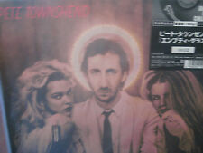 PETE TOWNSHEND EMPTY GLASS JAPAN LIMITED RARE NUMBERED 32 OUT OF PRINT Sealed LP