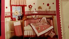 """Baby Martex """"BLOSSOMS""""  Nursery  Set with mobile  EXTRAS free ship"""