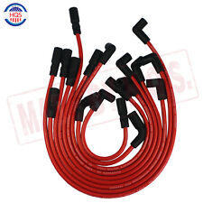 10.5MM RED Spark Plug Wires For GMC JIMMY SONOMA SAFARI 1995-2001 VORTEC V6 4.3L