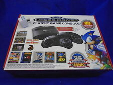 Sega Mega Drive Classic Mini Game Console +80 Games + 2 Wireless Controllers