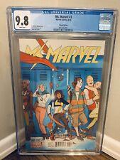 Ms Marvel 3 CGC 9.8 Variant 1:50 Annie Wu Rare HTF 2014 💎 Disney Kamala Khan