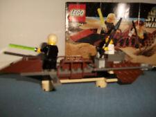 Lego 7104 Star Wars Desert Skiff (2000) with instruction manual