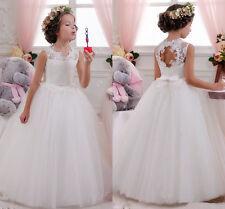 Kids Holy Flower Girl Dress Wedding Bridesmaid Birthday Pageant Formal Princess