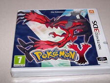 POKEMON Y - Nintendo 3DS - UK PAL - NEW & FACTORY SEALED - NR MINT COND