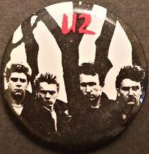 * U2 * - Official & Original Button - The Unforgettable Fire Tour - 1984-85