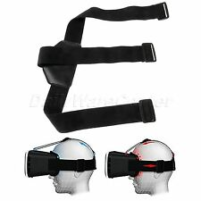 Replacement Headstrap Black PU Leather Pad F VR Box 2.0 Google Glasses Cardboard