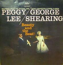 Peggy Lee/George Shearing(Vinyl LP)Beauty And The Beat-Capitol-T 1219-USA-VG/Ex