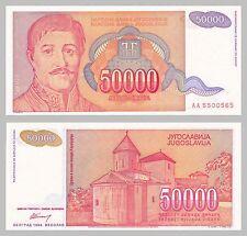 Jugoslavia/YUGOSLAVIA 50000 Dinara 1994 p142a unz.