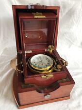 Rare Russian Soviet Ship Marine Chronometer