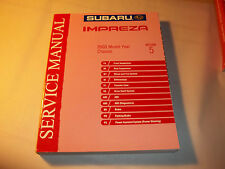 GENUINE 2003 SUBARU IMPREZA FACTORY SERVICE MANUAL SECTION 5 CHASSIS