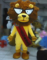 Lion Mascot Costume Suits Cosplay Christmas Party Game Dress Adult Unisex Outfit