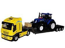 IVECO TRUCK WITH NEW HOLLAND T7 TRACTOR LIGHTS & SOUNDS 3127100