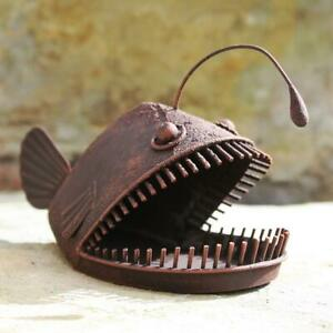 Decorative Metal Angler Fish