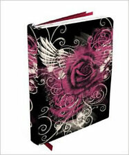 Wings of a Rose Journal (hc, 5x7 in.) silver gilded edges Flame Tree Publishing