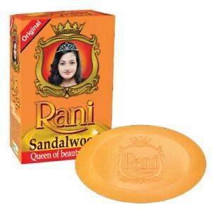 Rani Soap Ayurveda Sandalwood Soaps 70g Pure Natural Ceylon Soap