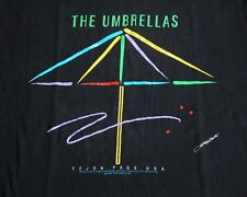 Vtg 90s Christo and Jeanne-Claude THE UMBRELLAS Tejon Pass T Shirt XL