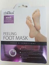 L'biotica Feet pack Foot mask Pair of socks Exfoliating Peel Off Baby Silcatil