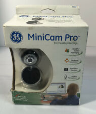 NEW! GE MiniCam Pro Clip-on (98067) Silver & Black, Wired.