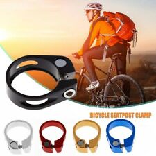 Mountain Bike Mtb Road Bicycle Lightweight Alloy Seat Post Clamp Bolt  31.8 34.9