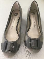 Anne Klein - iFlex Buckle Akhaleema Gray 6M Heels
