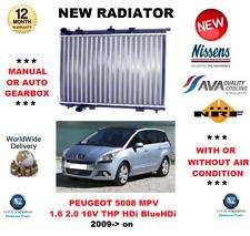 PARA PEUGEOT 5008 1.6 2.0 16V THP HDi BlueHDi 2009> RADIADOR CALIDAD OE