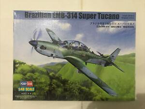 1:48 Brazilian EMB-314 Super Tucano turboprop Aircraft 81727 Hobbyboss