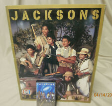The Jacksons 1984 Victory Tour Concert Program With 1984 Victory Tour Casette