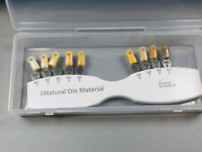 1set Dental Ips Natural Die Material Shade Guide Ivoclar Vivadent Nd1 9 Abutment