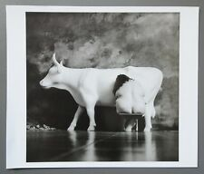 Jan Saudek Photo Kunstdruck Art Print 32x27cm Cowparade The Milkmaid 2004 Nude