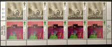 GB STAMPS ..ACADEMY  OF ARTS .. Strip of 10 X £1.25  se-tenant Stamps MNH