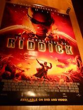 Vin Diesel - The Chronicles of Riddick Video Poster