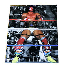 THE ULTIMATE WARRIOR 16X20 BEAUTIFUL IN RING GLOSSY PHOTO VERY RARE