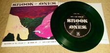 """SHOOK ONES - Slaughter Of The Insole 7""""  GREEN WAX (500 COPIES) SXE NYHC JUDGE"""