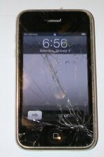 Apple iPhone 3Gs - (At&T) A1303 Smart Phone 16Gb Works Protective Glass Cracked