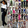 Women 2Pcs Tracksuit Casual Hoodie Sweatshirt Pants Set Gym Jogger Sport Outfits