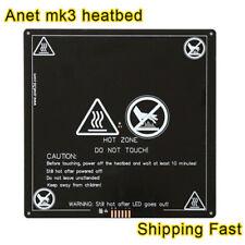 1pcs Anet A6 A8 MK3 12V Heatbed Aluminum Heated Bed 220mm*220mm*3mm MK2B & MK2A