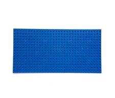 32 X 16 Dots Kids Toys Base Plate Deep Blue 25.5x12.8 cm Building Blocks