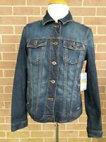 Tommy Women's Denim Blue Jean Jacket Size M New w/ Tags Retail Price $ 89.00