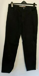 Levi's 550 14M Jeans Classic Relaxed Tapered Men's Black W32 L30 Cotton Blend