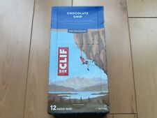 Boxed Clif Bar Chocolate Chip 12 Bars x 68g Organic, Vegan & Natural
